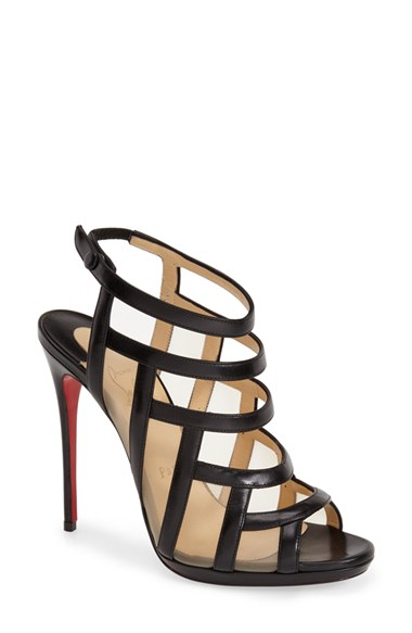 discount online classic sale online Christian Louboutin Suede Caged Sandals outlet from china in China online free shipping brand new unisex EJx1l