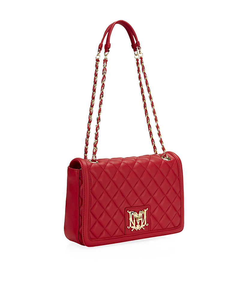 Red Quilted Handbag | Luggage And Suitcases