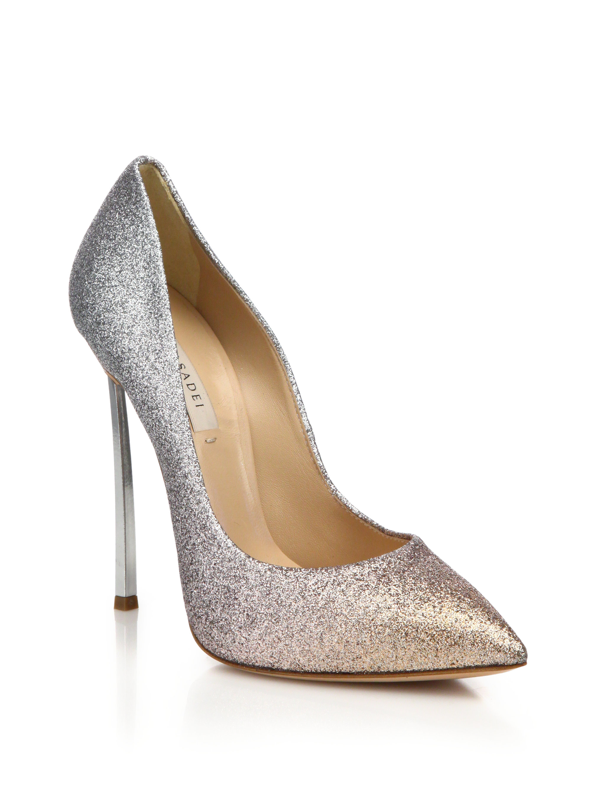official site sale online Casadei Blade metallic pumps outlet fast delivery HFvWfpz