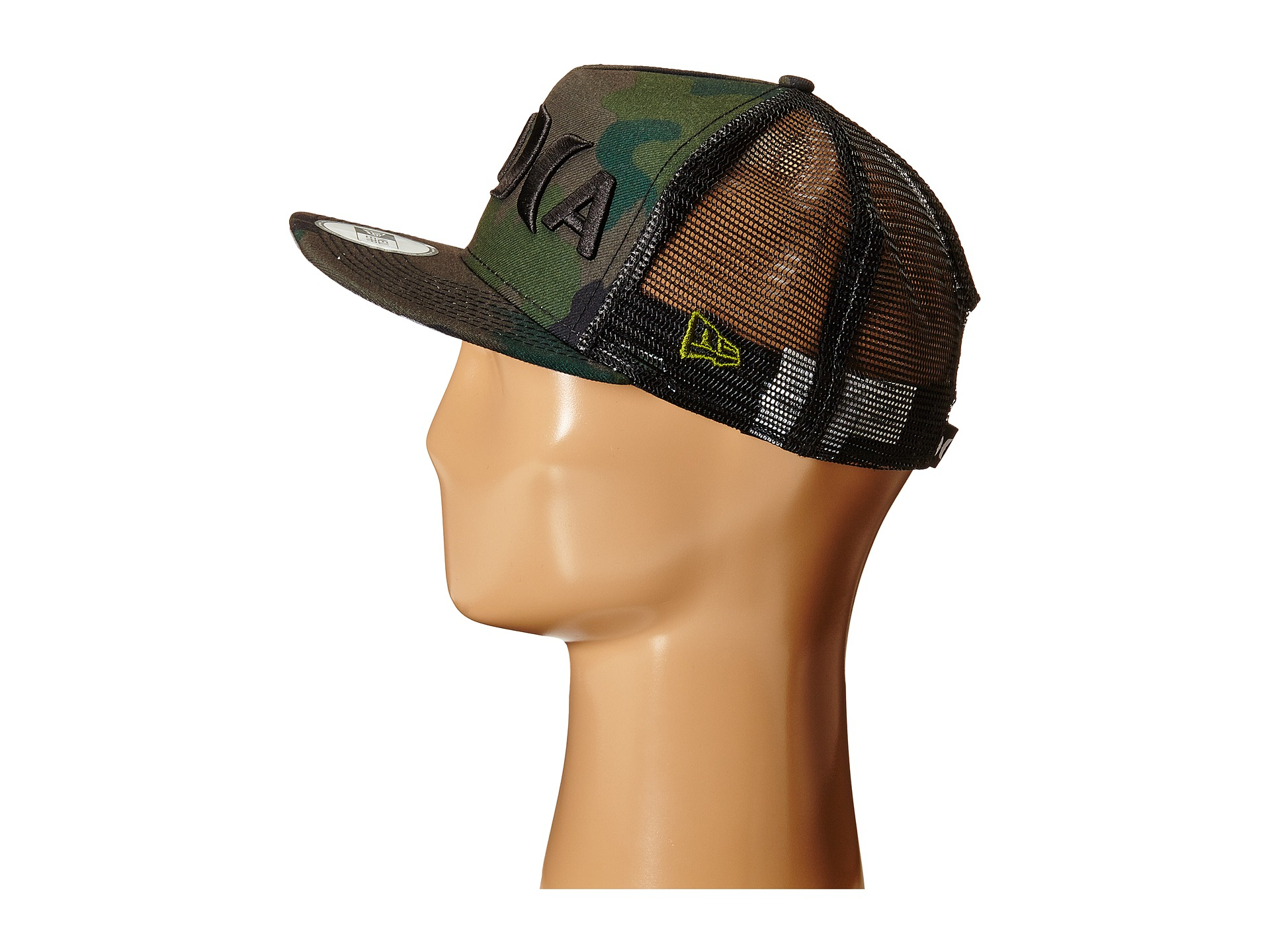 bdb2fe59ccc clearance lyst hurley jjf aloha hat in green for men 7e397 1a771