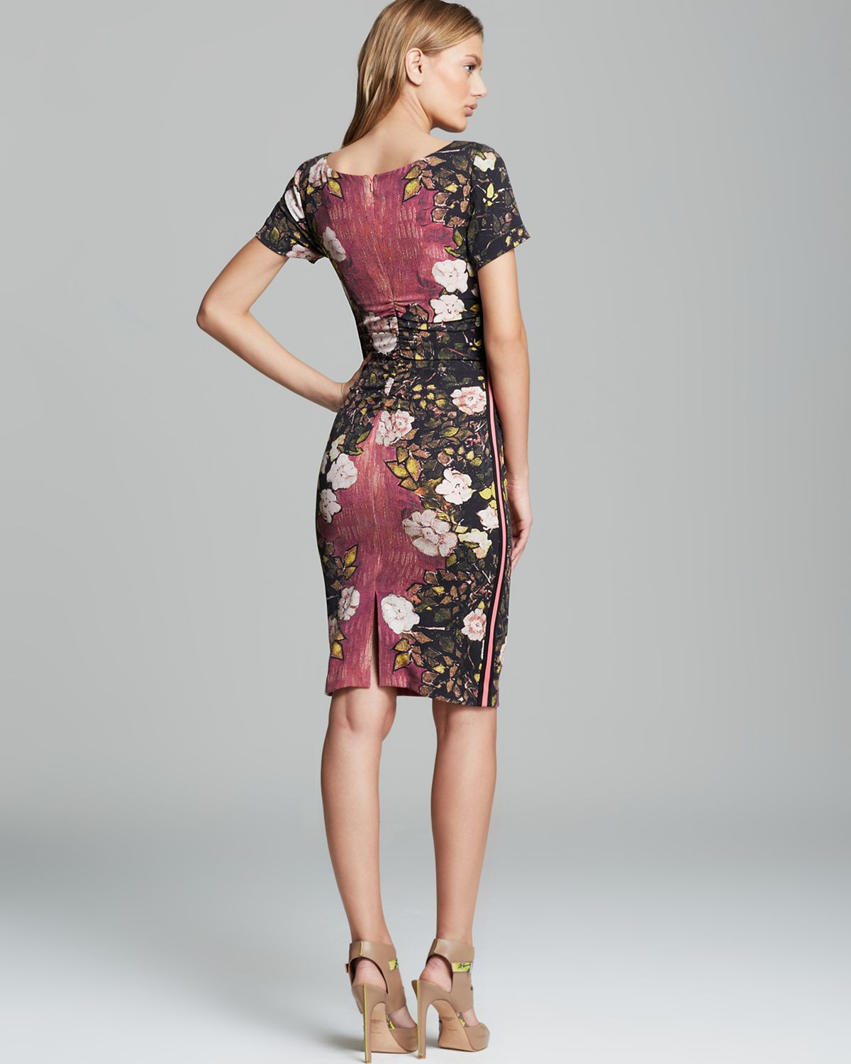 Lyst Tracy Reese Dress Stretch Crepe Print