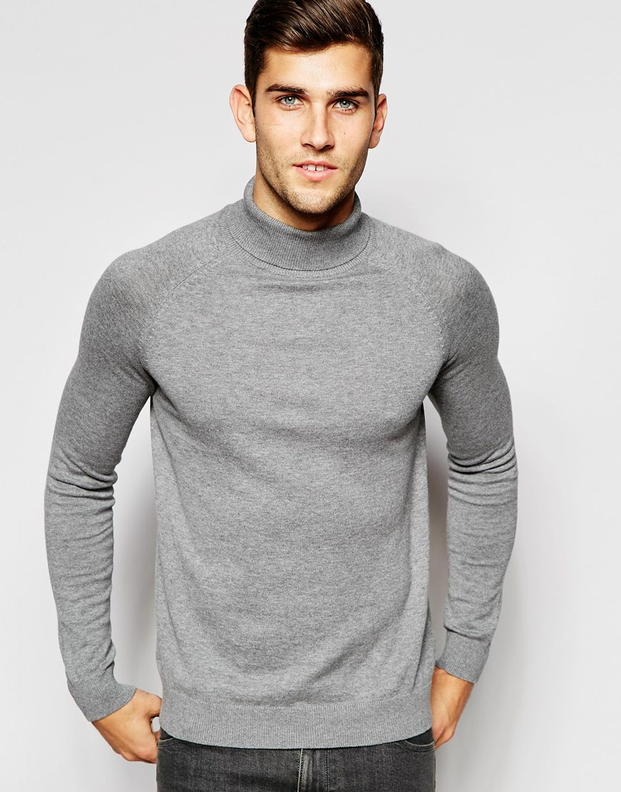 Men's roll neck jumpers are a great piece of men's knitwear to begin the mid-season with. You can easily dress them up or down. You can easily dress them up or down. Make sure you incorporate all the main autumnal colours such as burgundy and camel as .