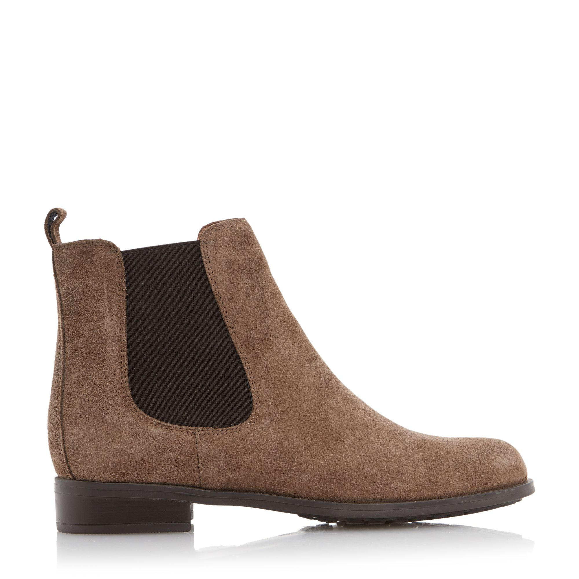 dune parrys chelsea boots in brown taupe lyst