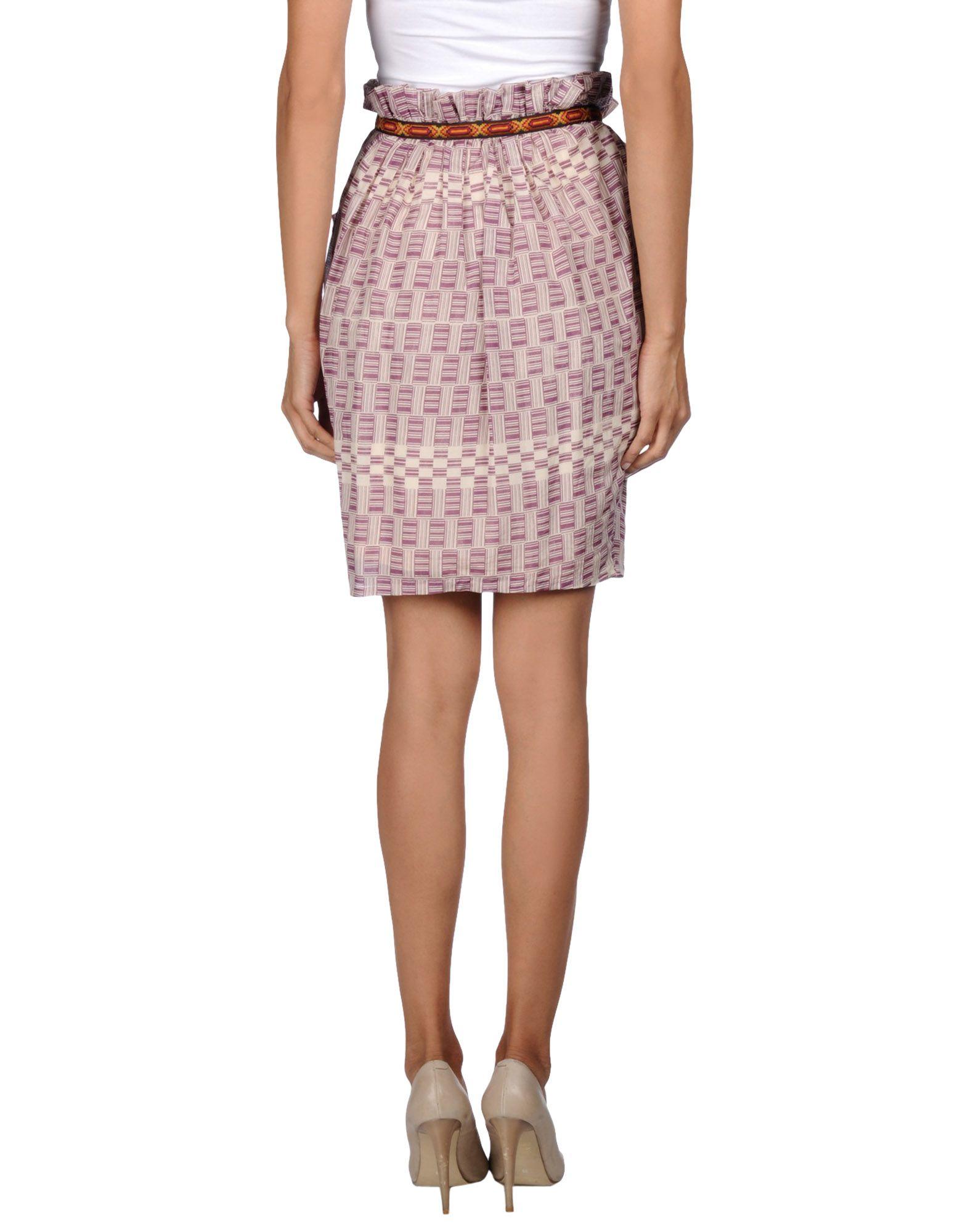 Twenty8twelve Knee Length Skirt in Purple | Lyst