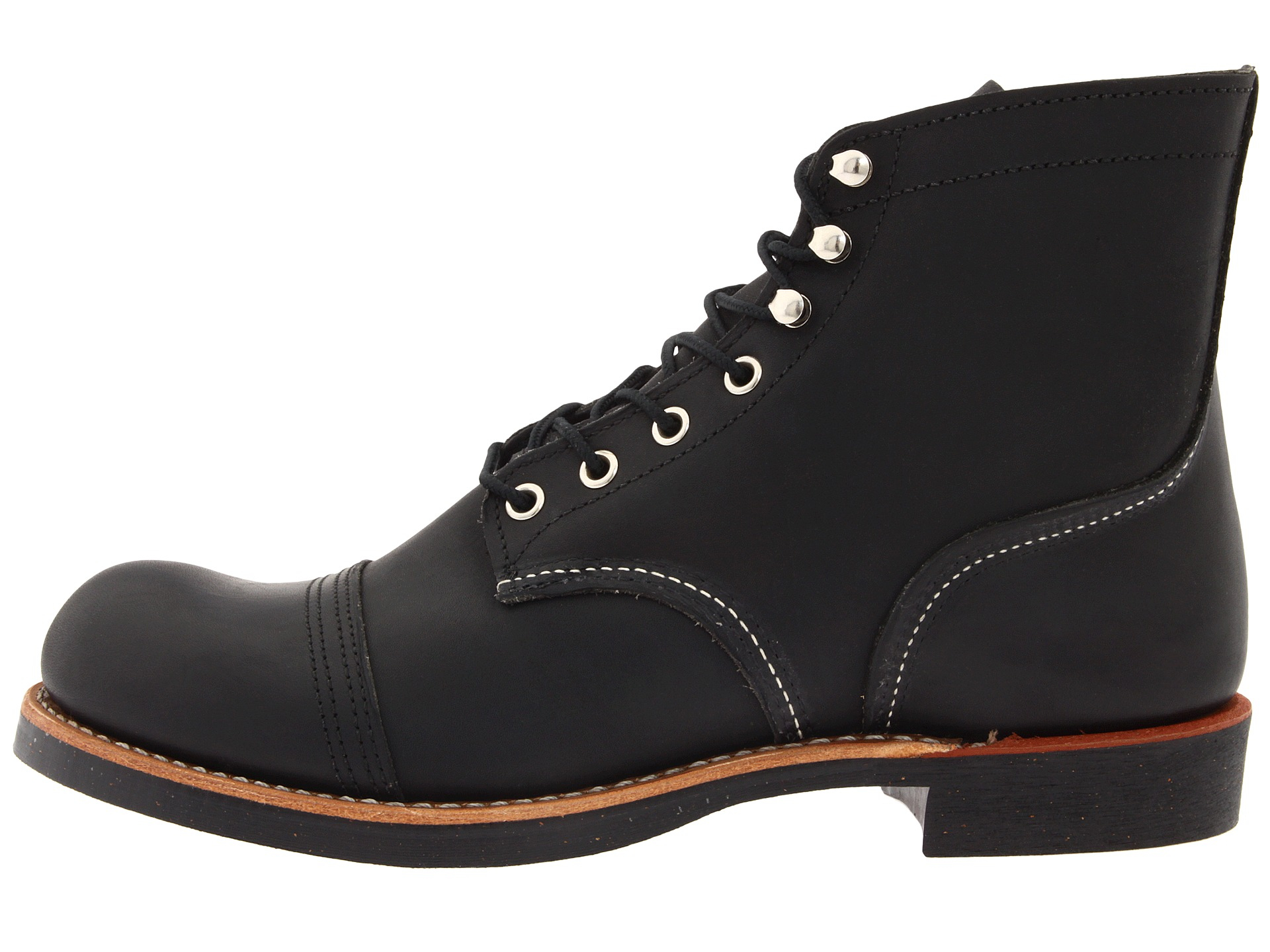 Red Wing 6 Quot Iron Ranger In Black For Men Black Harness