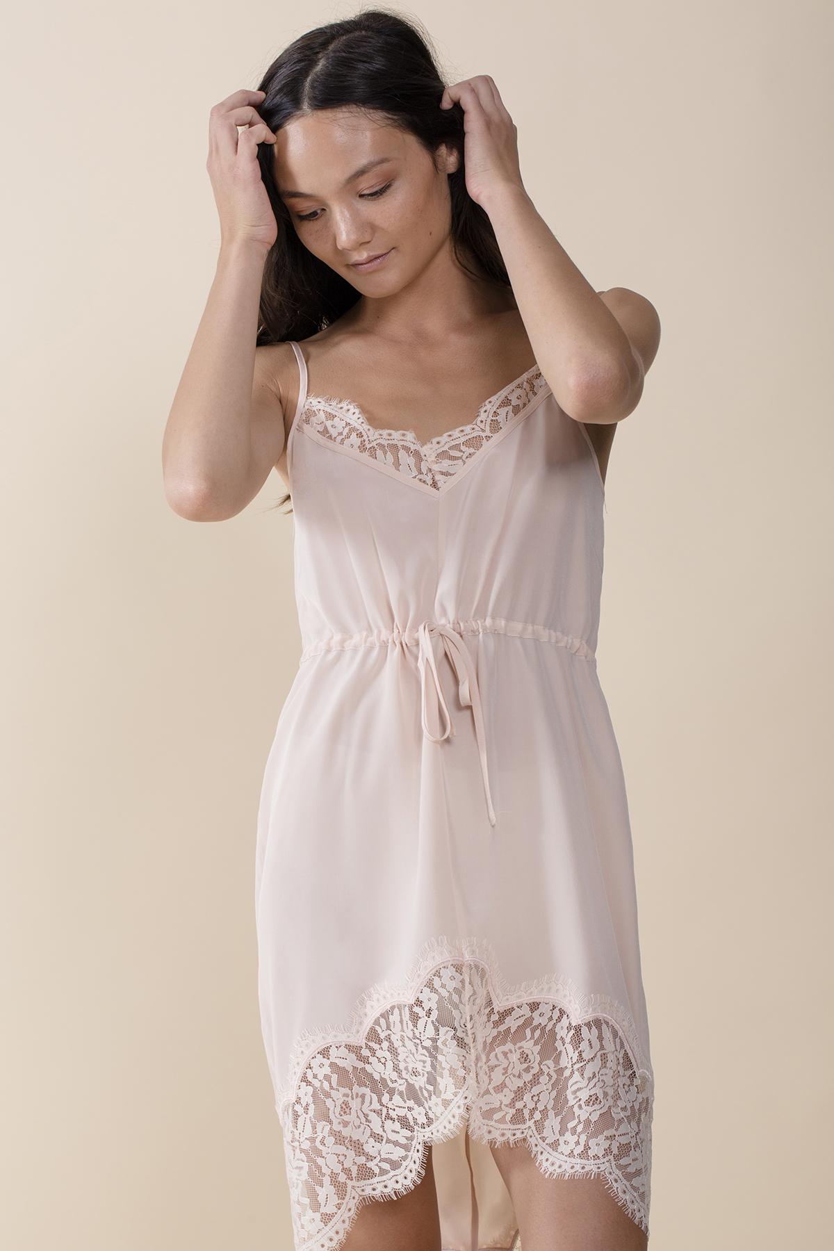97f6dee8a78b Keepsake Stolen Dance Silk Slip in White - Lyst