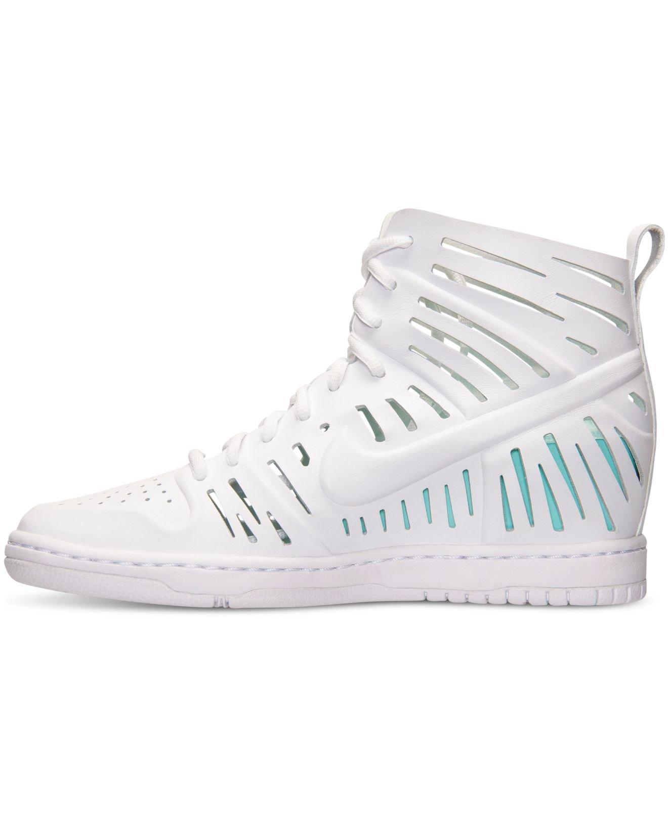 114f5dda4af ... joli white  Previously sold at Macys · Womens Nike Dunk Sky Hi .