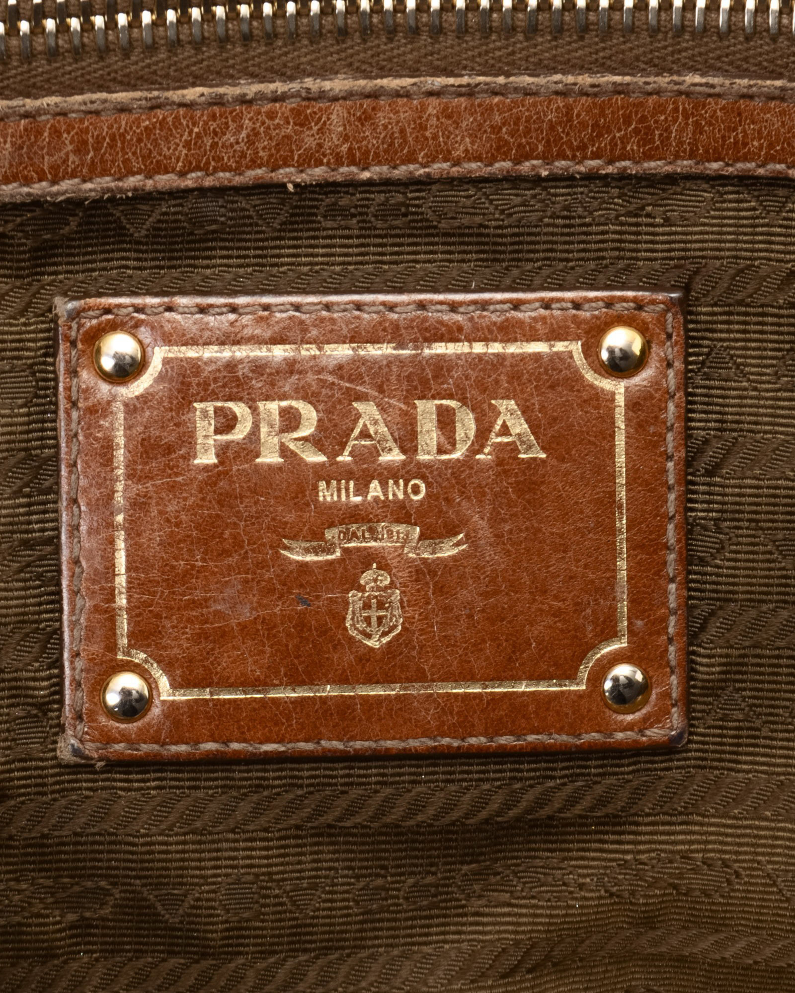 c3858fe23d8a Prada Milano Purse Brown Leather - Best Purse Image Ccdbb.Org