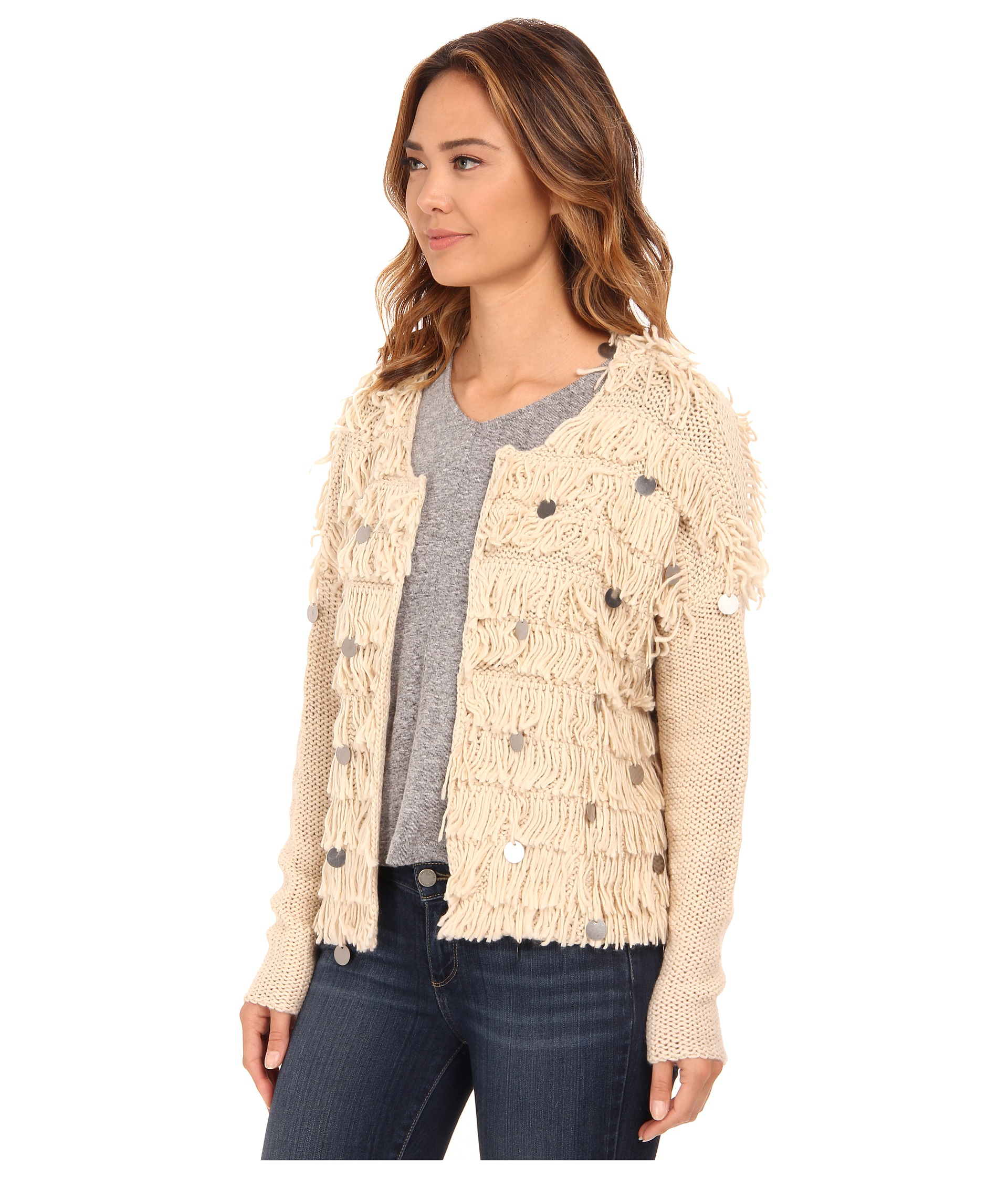 f5eb963c04 Lyst - Amuse Society Sunday Sweater in Natural