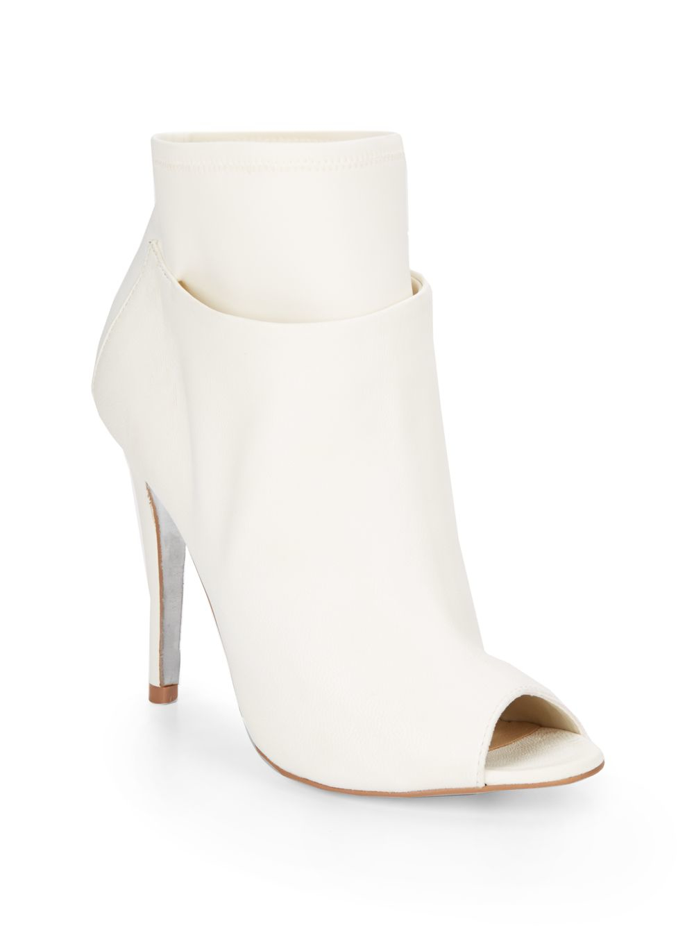24906ecf41 Gallery. Previously sold at: Saks OFF 5TH · Women's Peep Toe Booties