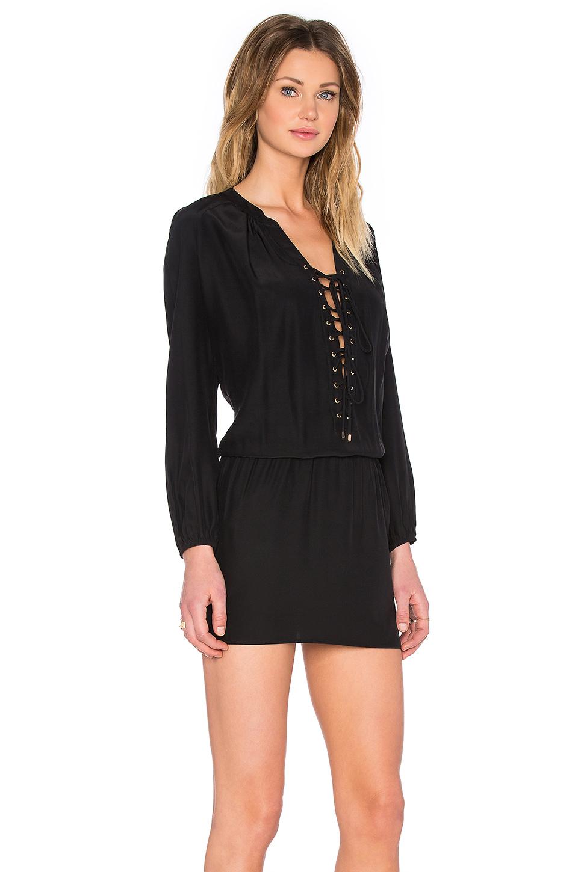 Amanda Uprichard Jackie Dress In Black Lyst