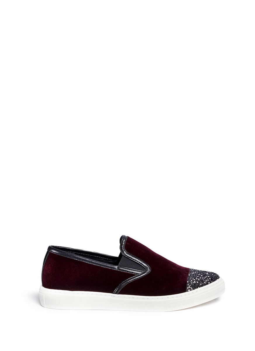 sale high quality Mother of Pearl Velvet Mary Jane Flats buy cheap outlet clearance very cheap outlet pre order NJUD6lr