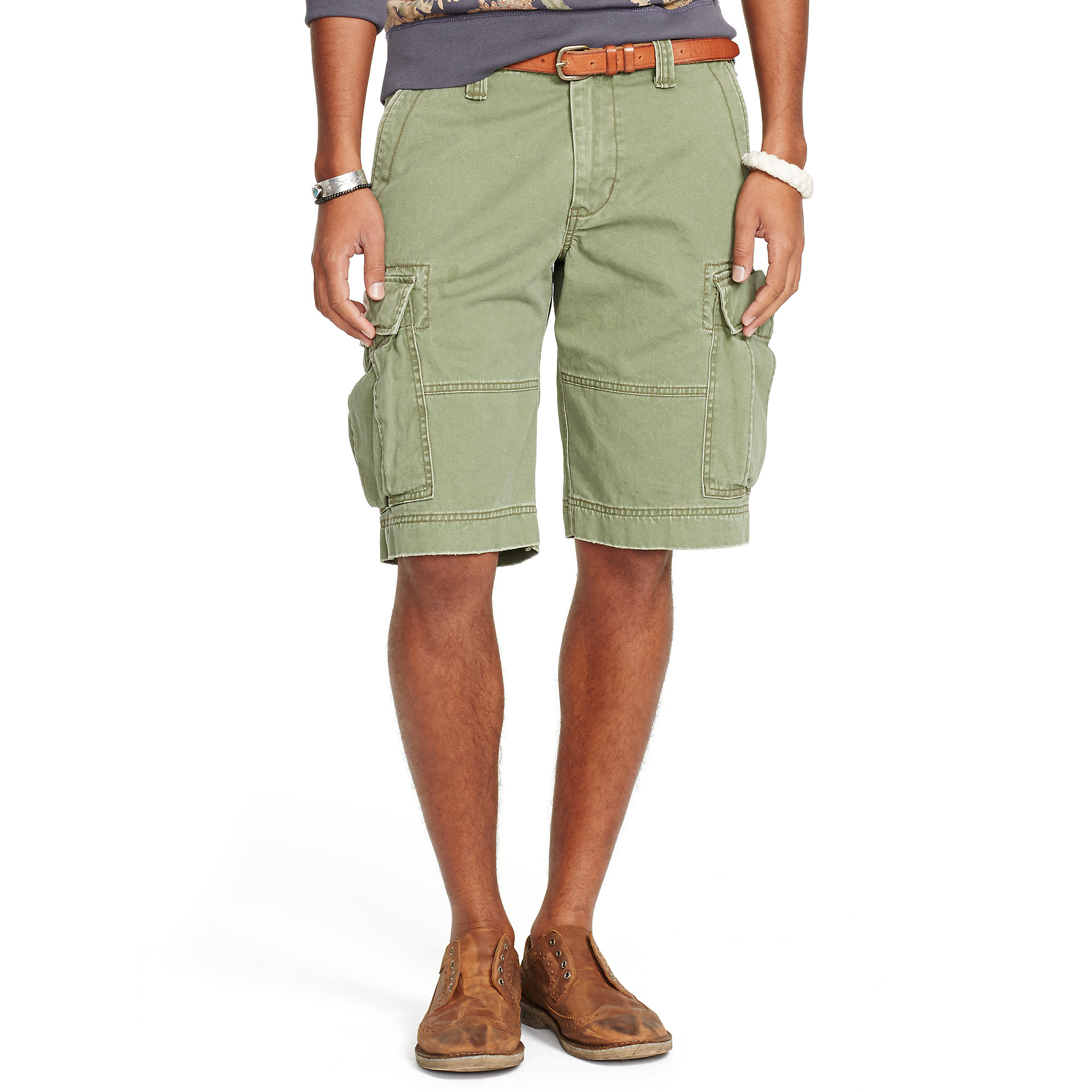 7daa7e3a8 Denim   Supply Ralph Lauren Chino Cargo Short in Green for Men - Lyst