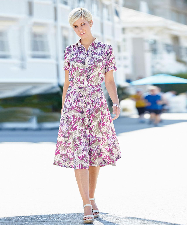 DAMART. Women s Print Dress 397601fd1