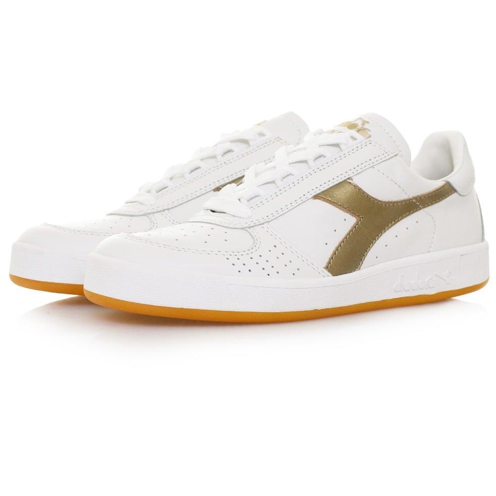 eecc62b550 Diadora Borg Elite White Gold Shoe in Metallic for Men - Lyst