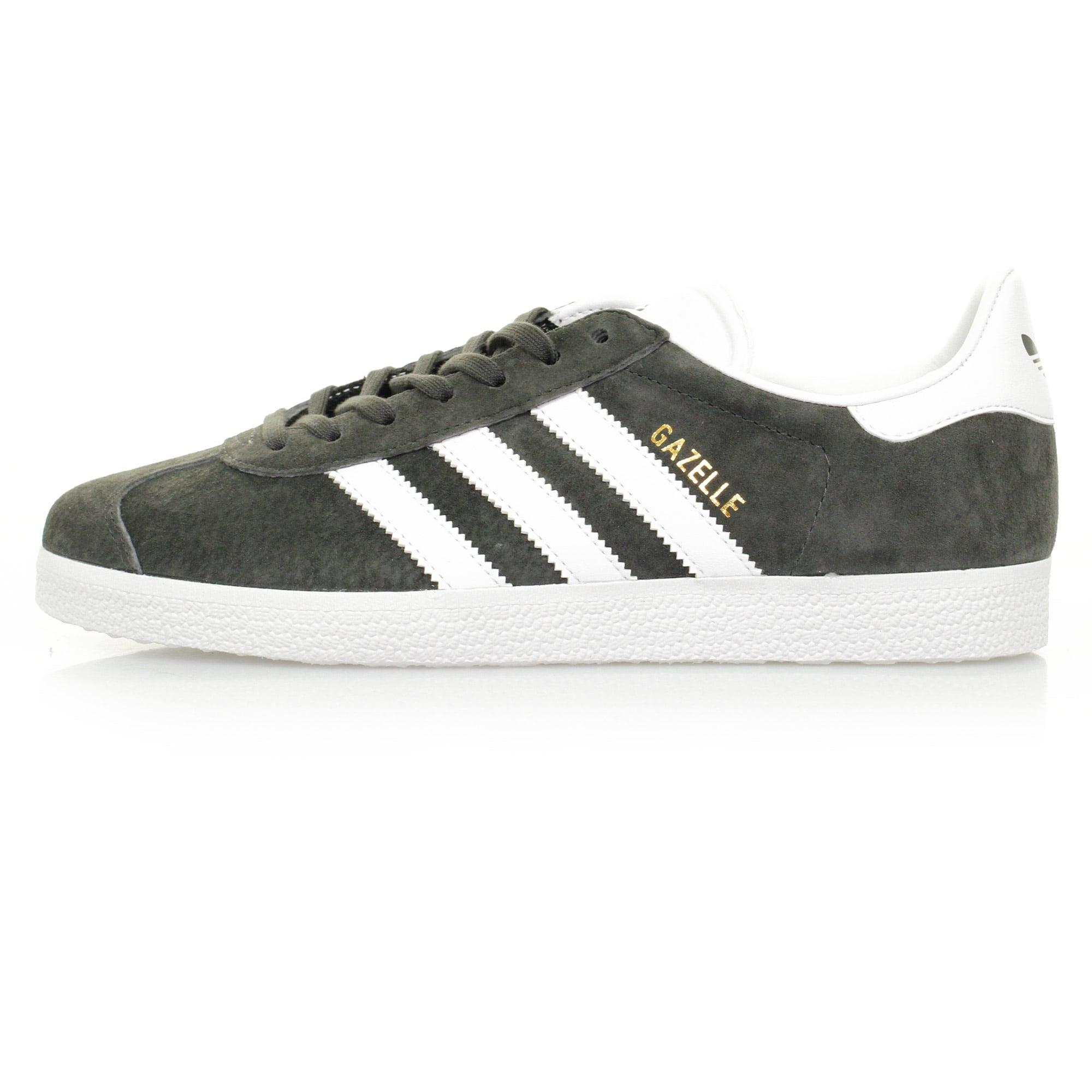 sports shoes 3356f c6d7e Lyst - Adidas Originals Adidas Gazelle Grey Suede Shoe in .