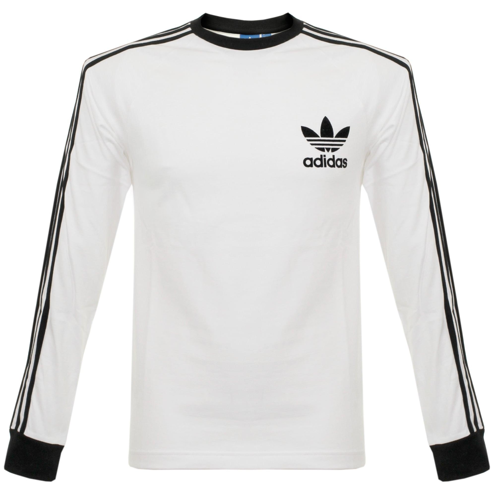 73371d15 adidas Originals Clfn Ls White T-shirt in White for Men - Lyst