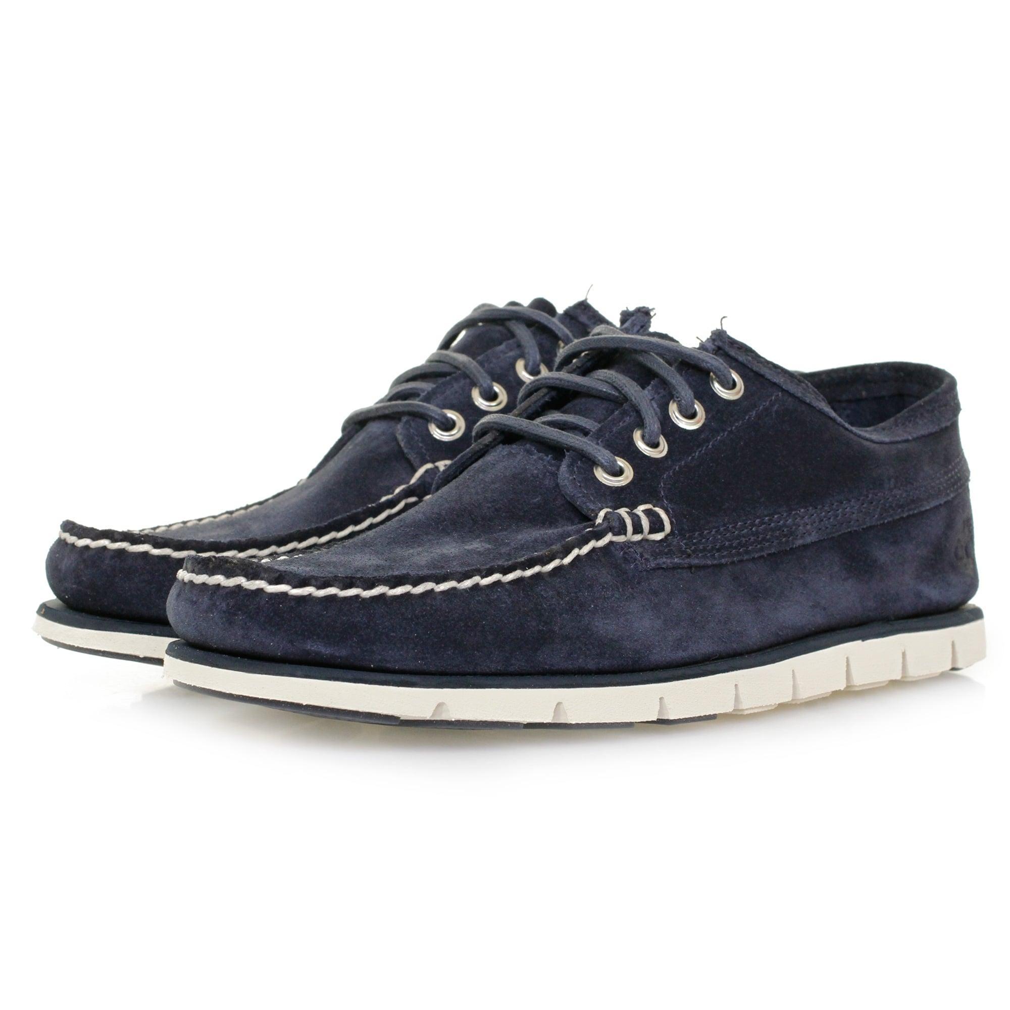 timberland tidelands ranger blue suede shoe a1h9h in blue