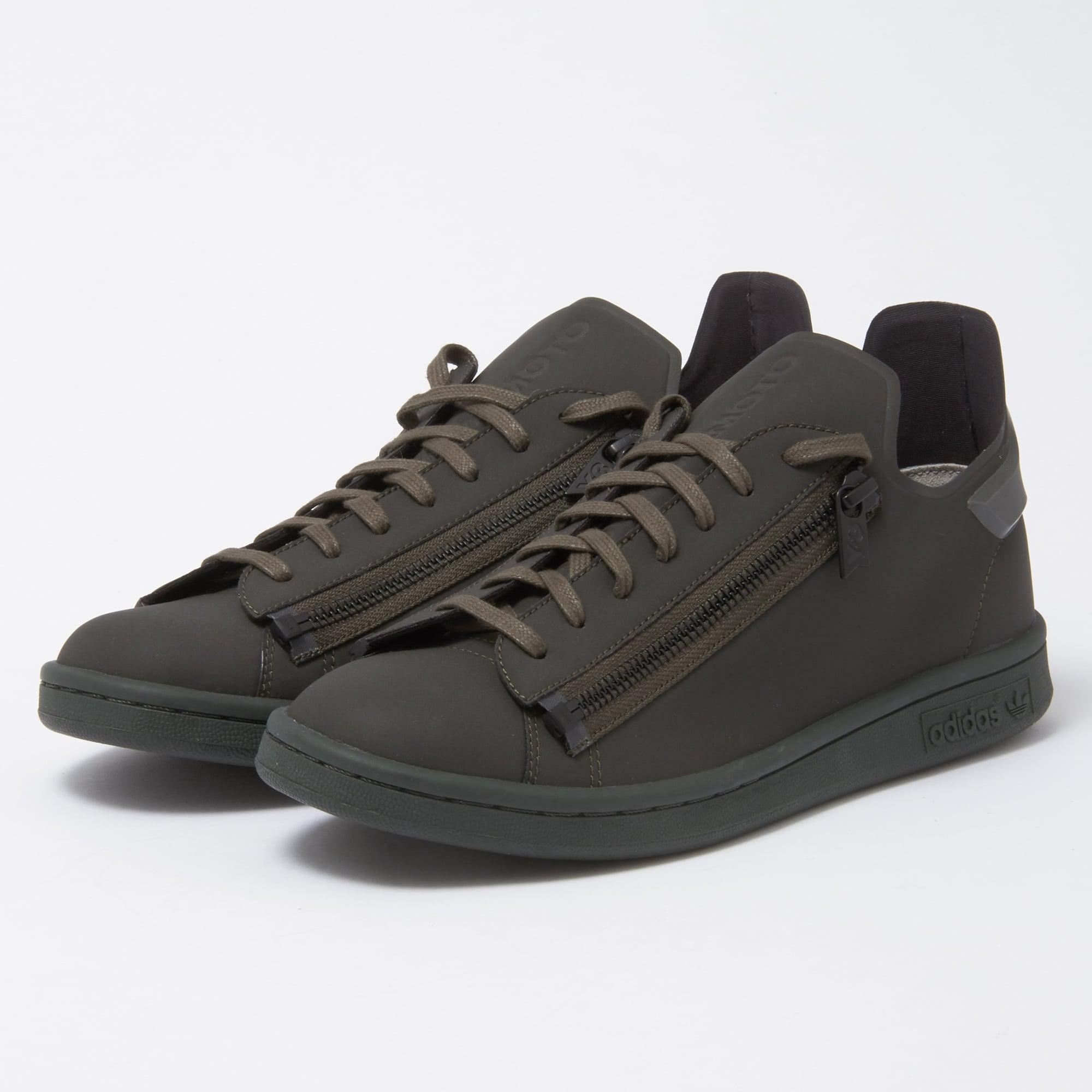 32dac7a98b98f Lyst - Y-3 Stan Zip - Black Olive in Black for Men