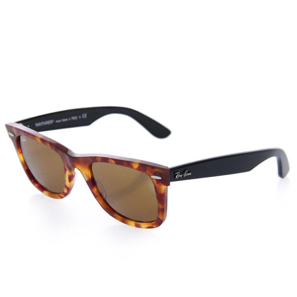 322352b3d9 Ray-Ban. Women s Original Wayfarer Fleck Brown Tortoise Sunglasses ...