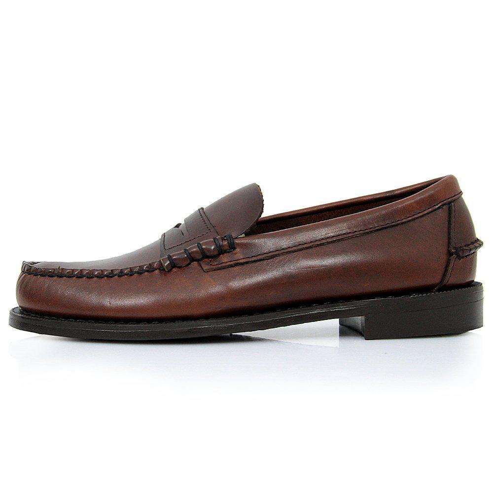 28355b5042 Sebago - Classic Beef-Roll Penny Moc Brown Shoes B76643 for Men - Lyst.  View fullscreen