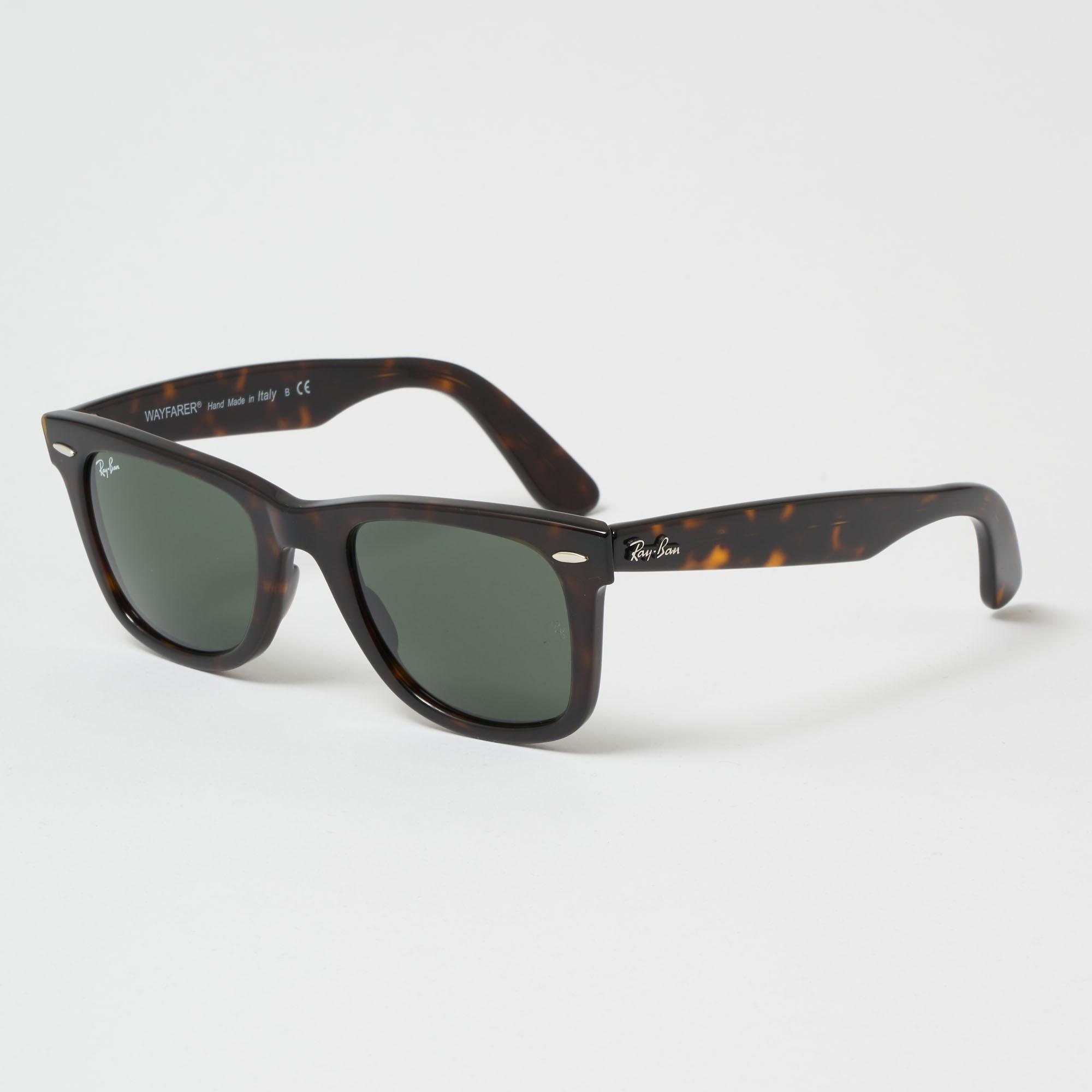 1a9ab46ce6f Lyst - Ray-Ban Original Wayfarer Classic Sunglasses - Green Classic ...