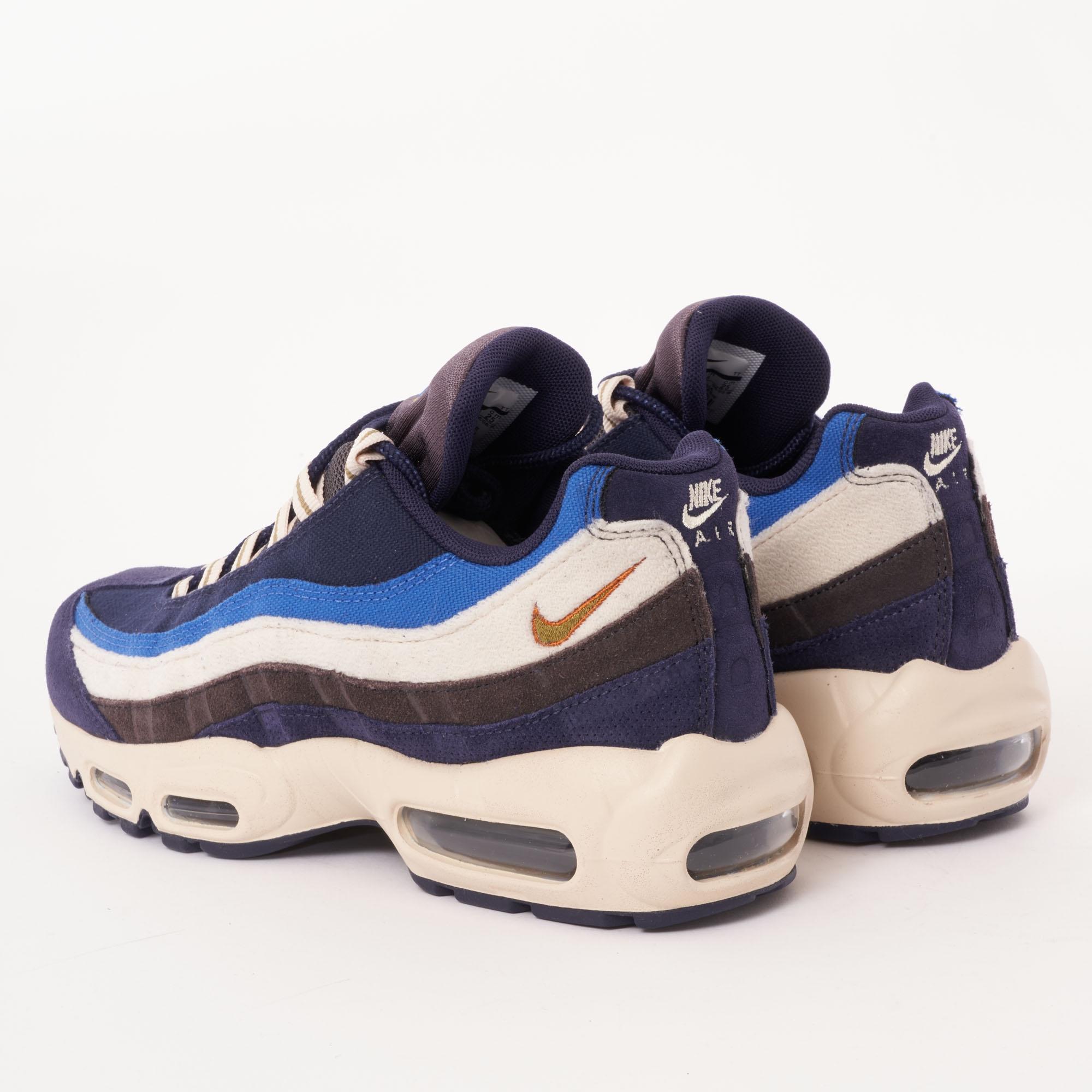 Nike - Blue Air Max 95 Prm for Men - Lyst. View fullscreen e8cb2aada
