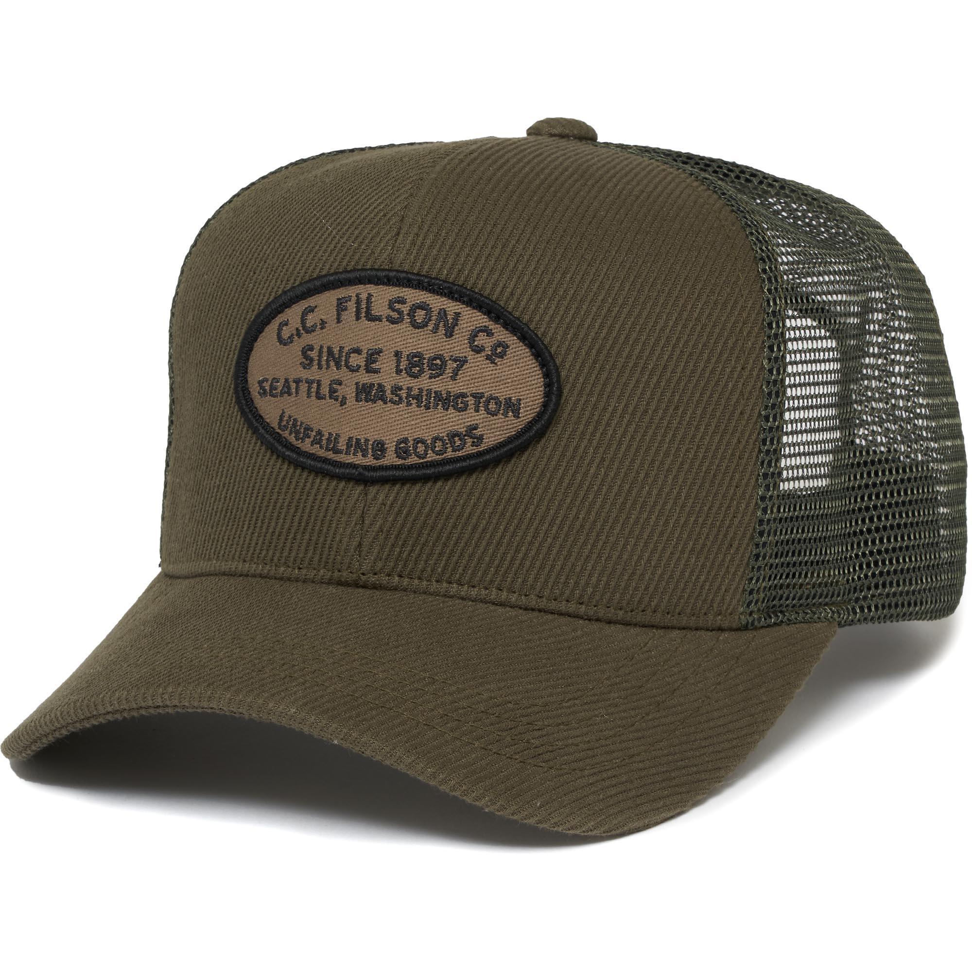 585841f1f51 Filson Buckshot Twill Mesh Cap in Green for Men - Lyst
