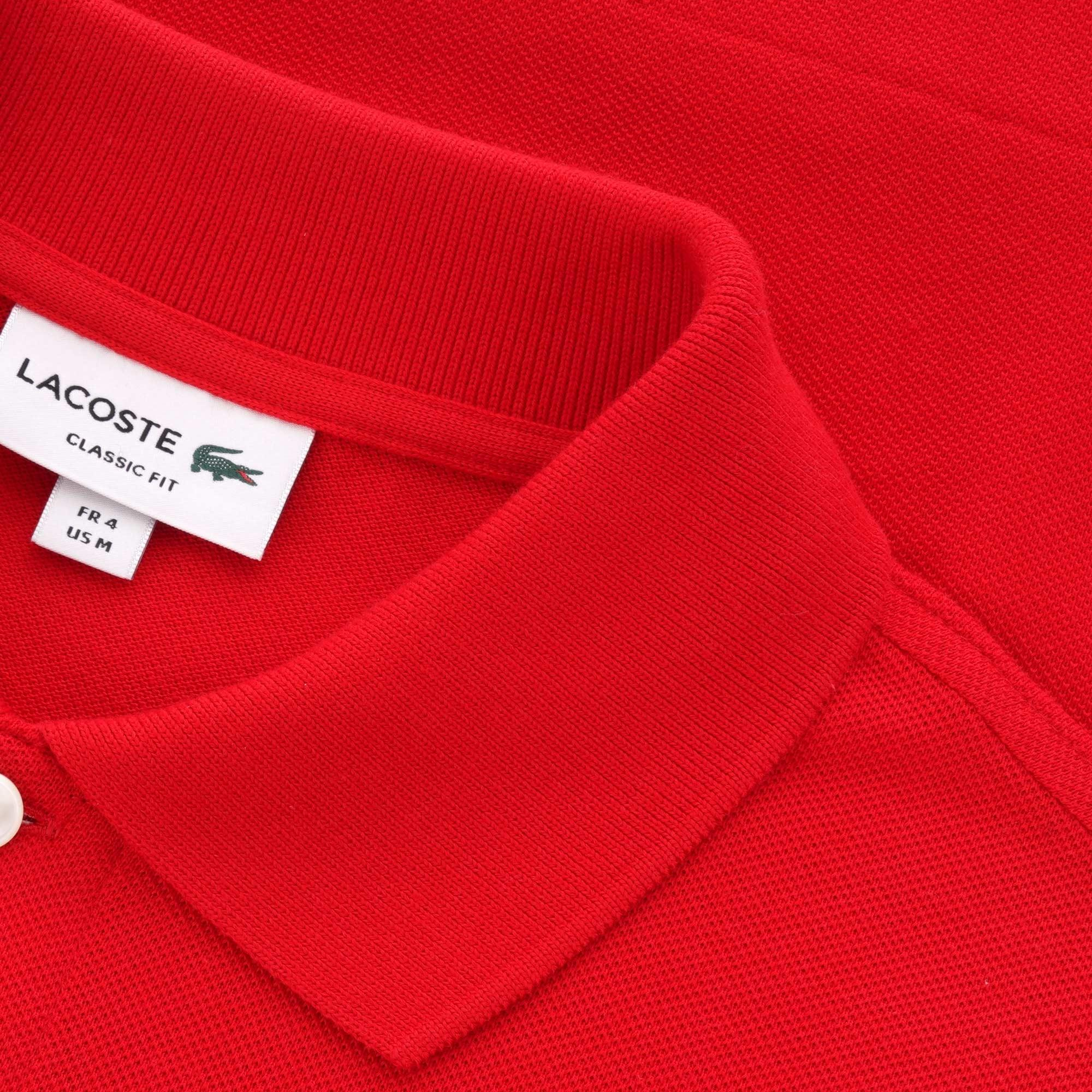 5efdfa8c9 Lacoste - Red L.12.12 Polo Shirt for Men - Lyst. View fullscreen