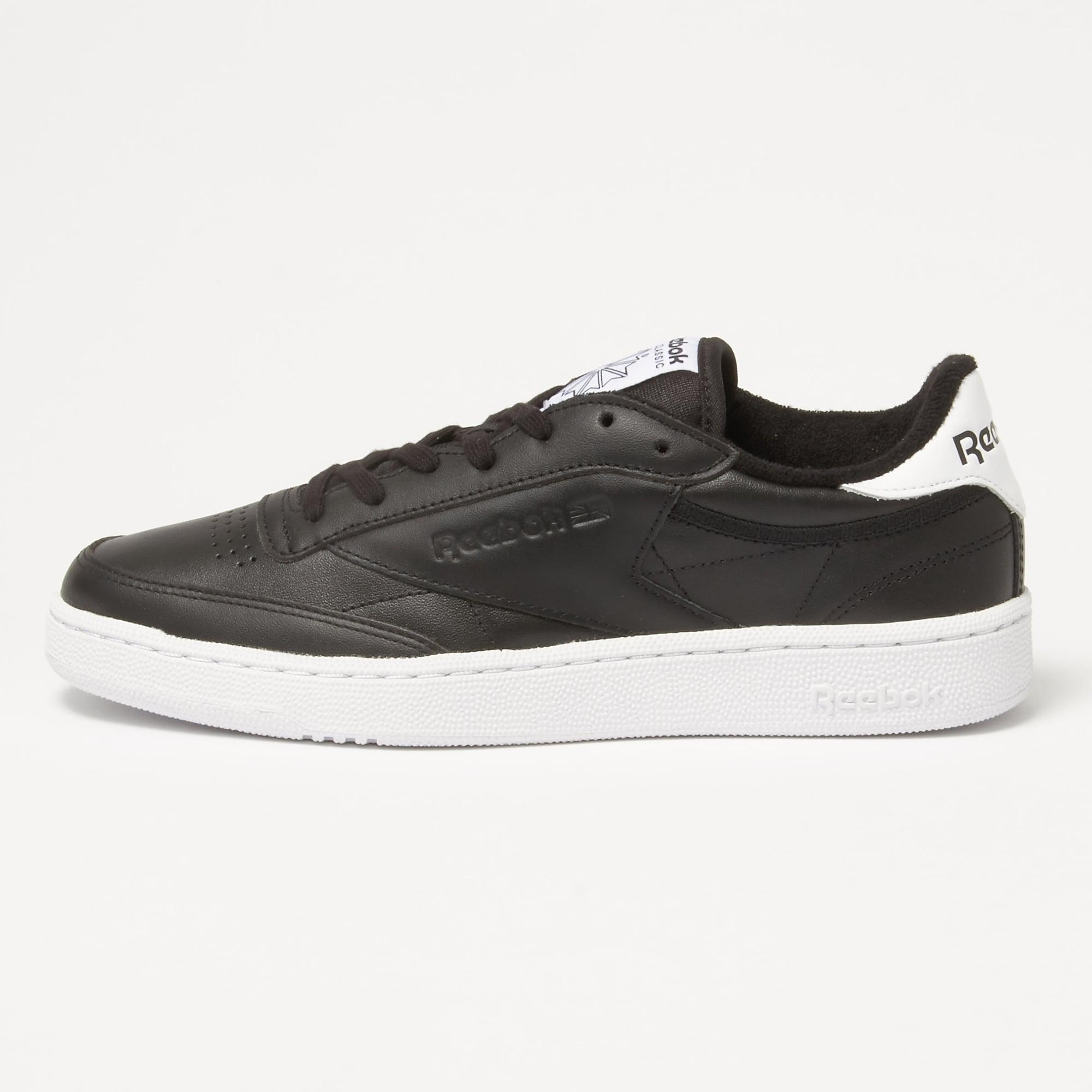 3302e962c68 Reebok - Club C85 El Black Sneakers Bd5685 for Men - Lyst. View fullscreen