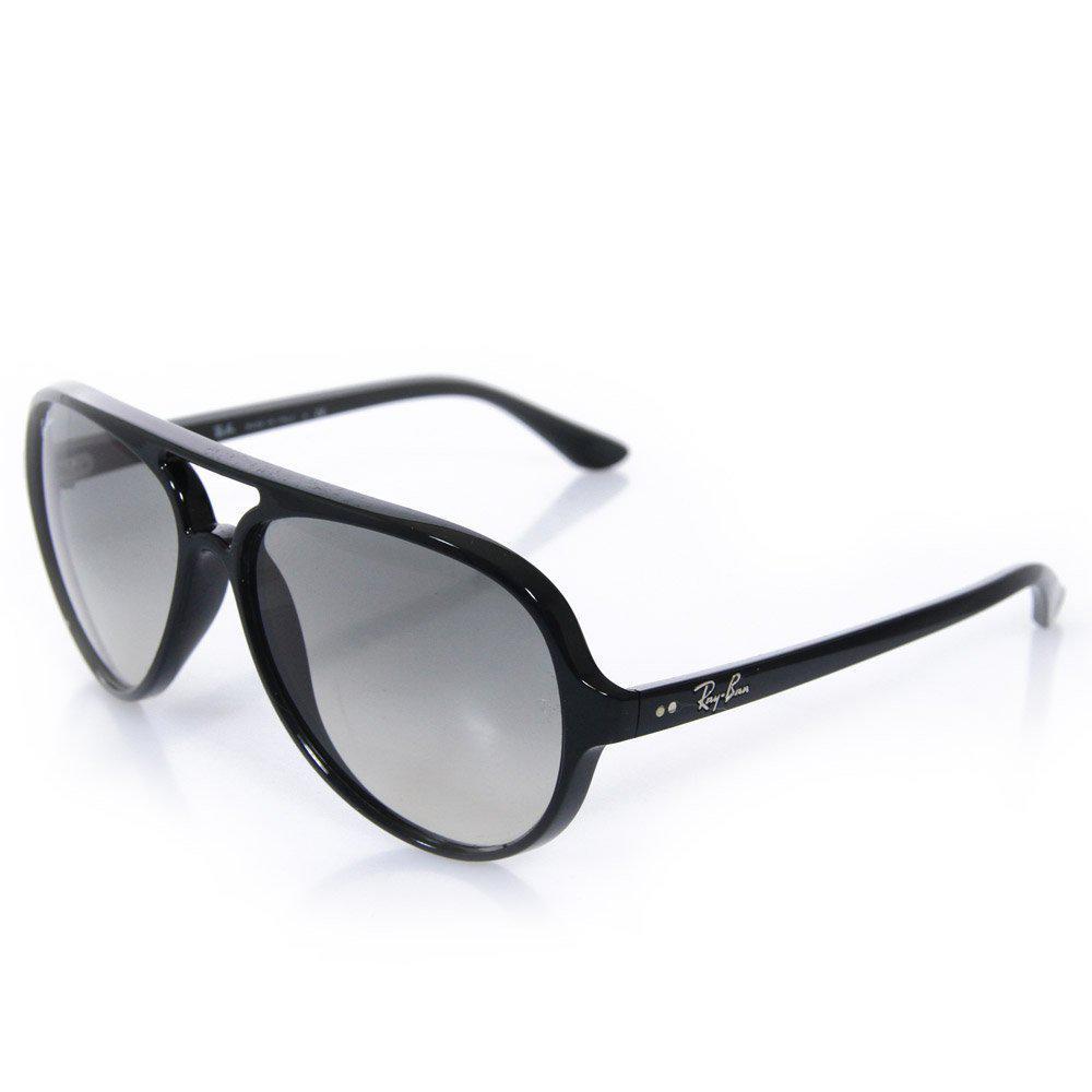 f1765df7f6e Lyst - Ray-Ban Cats 5000 Classic Black Sunglasses 0Rb4125-601 32 in ...