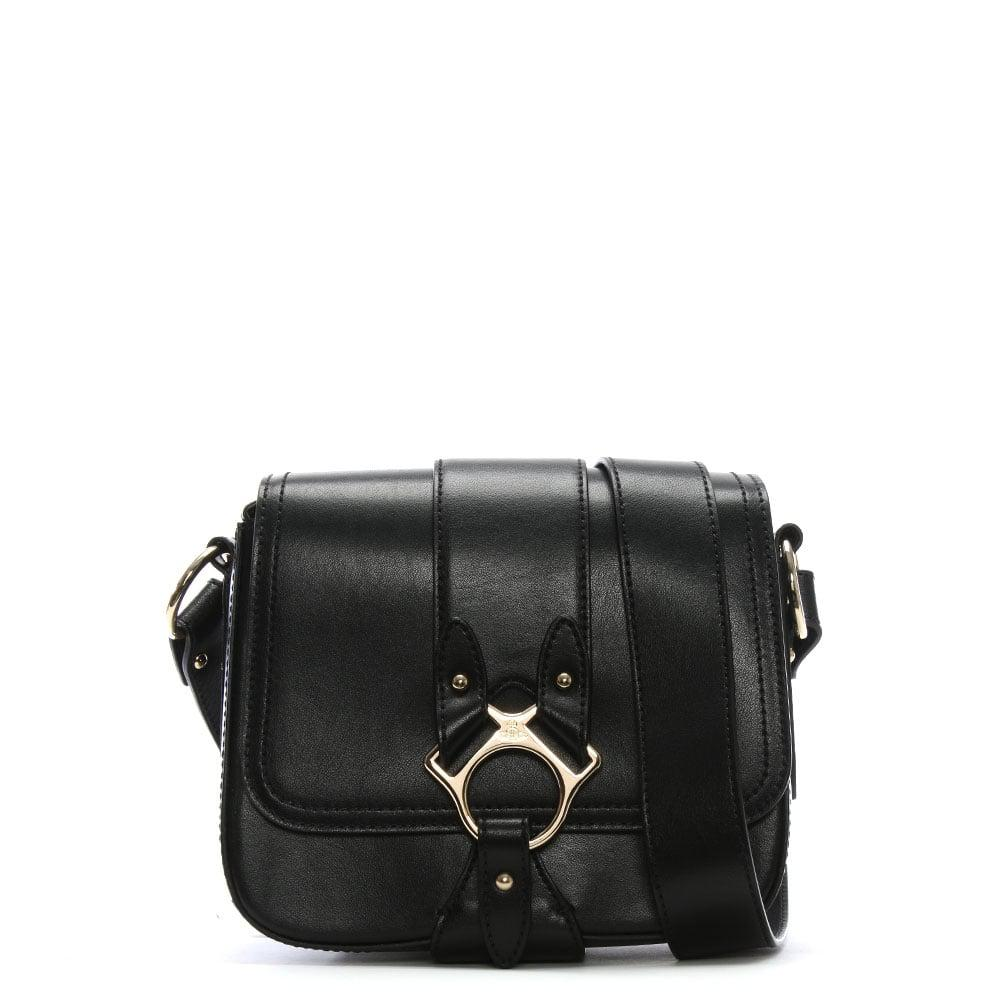4f872717a4 Lyst - Vivienne Westwood Folly Black Leather Saddle Bag in Black