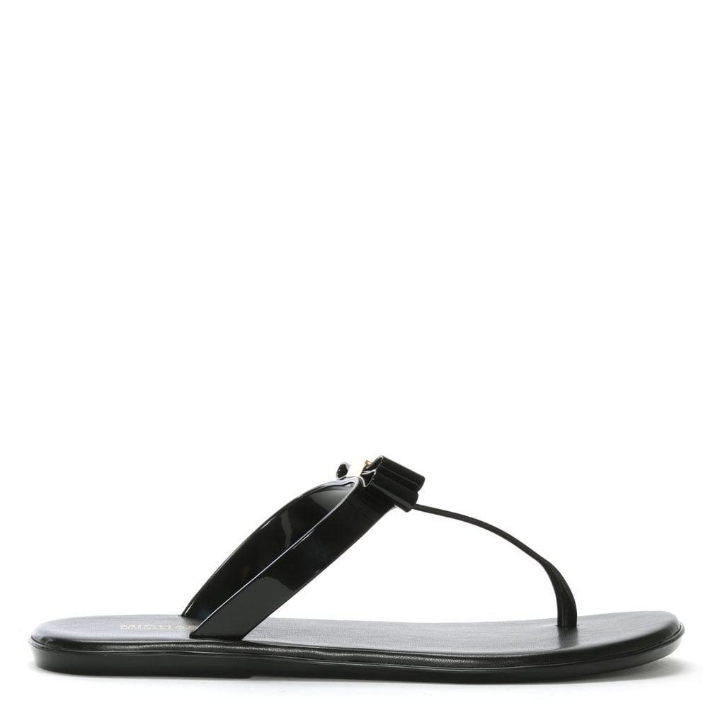 a08c6d846d Michael Kors Caroline Black Jelly Sandals in Black - Save 25% - Lyst
