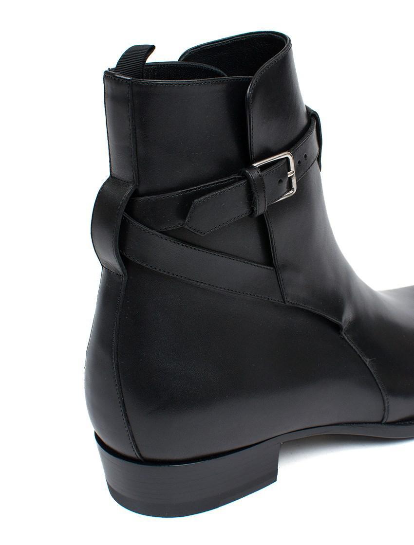 0a2d1d3b10b Lyst - Saint Laurent 'hedi' Ankle Boots in Black for Men