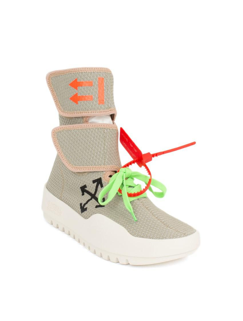 cbb9eada2c30 Lyst - Off-White c o Virgil Abloh Velcro Sneakers for Men