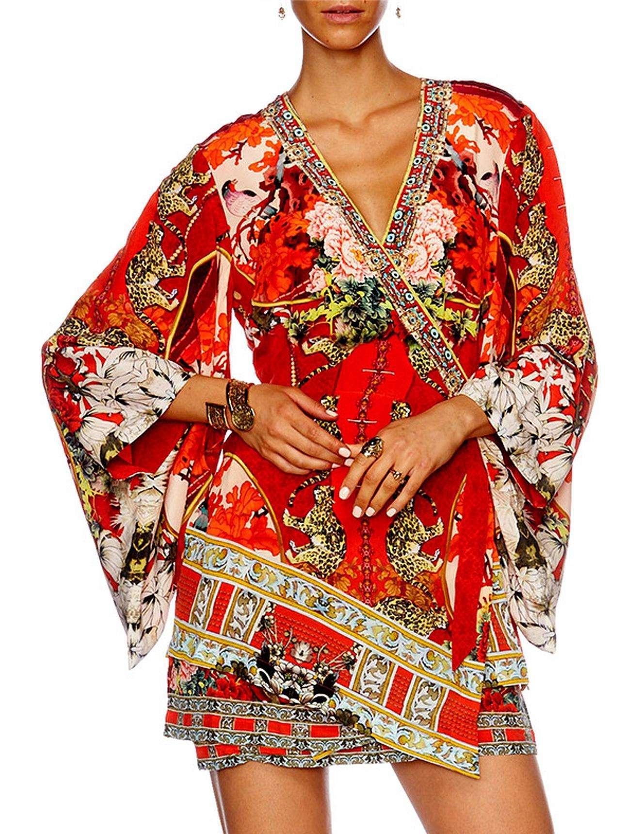 71a90428141 Gallery. Previously sold at  David Jones · Women s Kimono Dresses ...