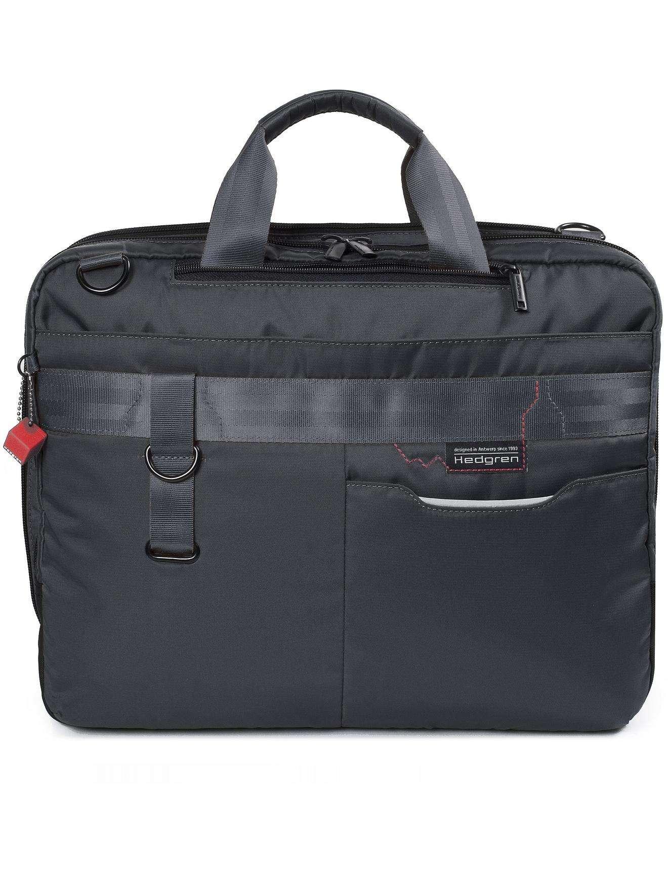 Hedgren The Brook 3 Way Business Bag in Black for Men - Lyst f6965a758b
