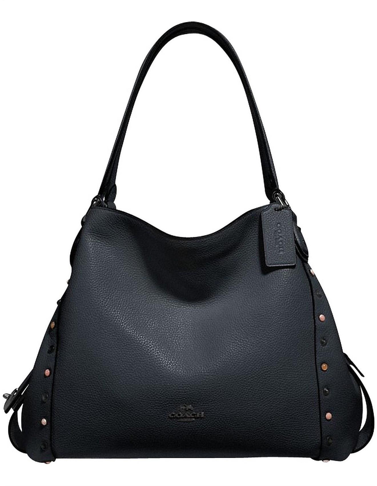328255fbd5195 COACH Edie Shoulder Bag 31 With Rivets - Lyst