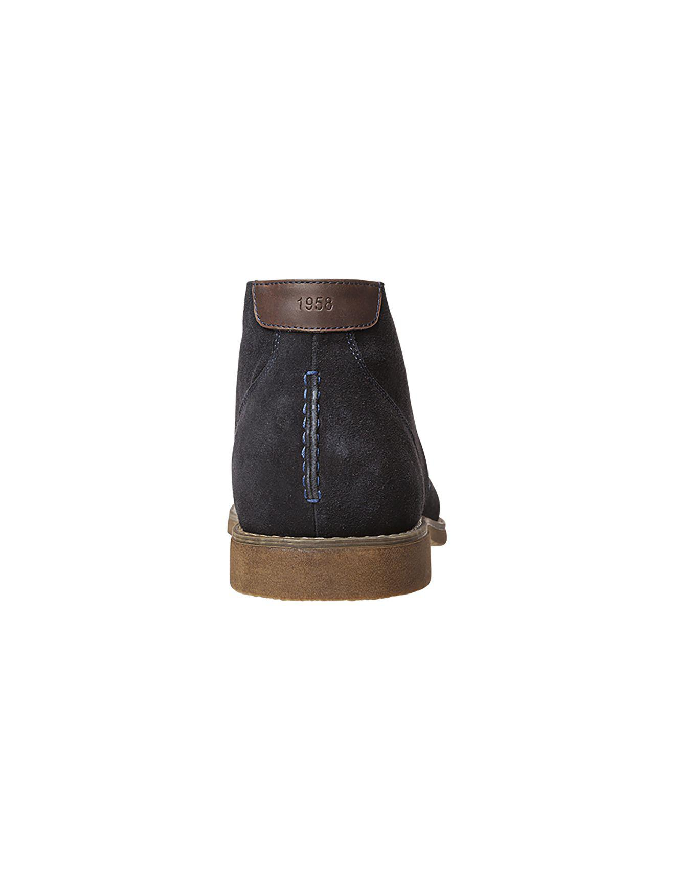1f4ecb448c2 Hush Puppies Terminal Suede Lace Up Desert Boot in Blue for Men - Lyst