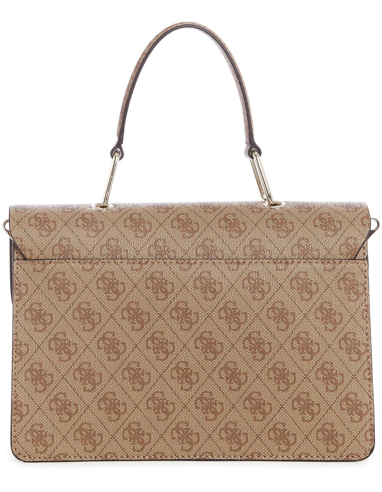 9cda41e9e4de Guess In Love Top Handle Bag - Lyst