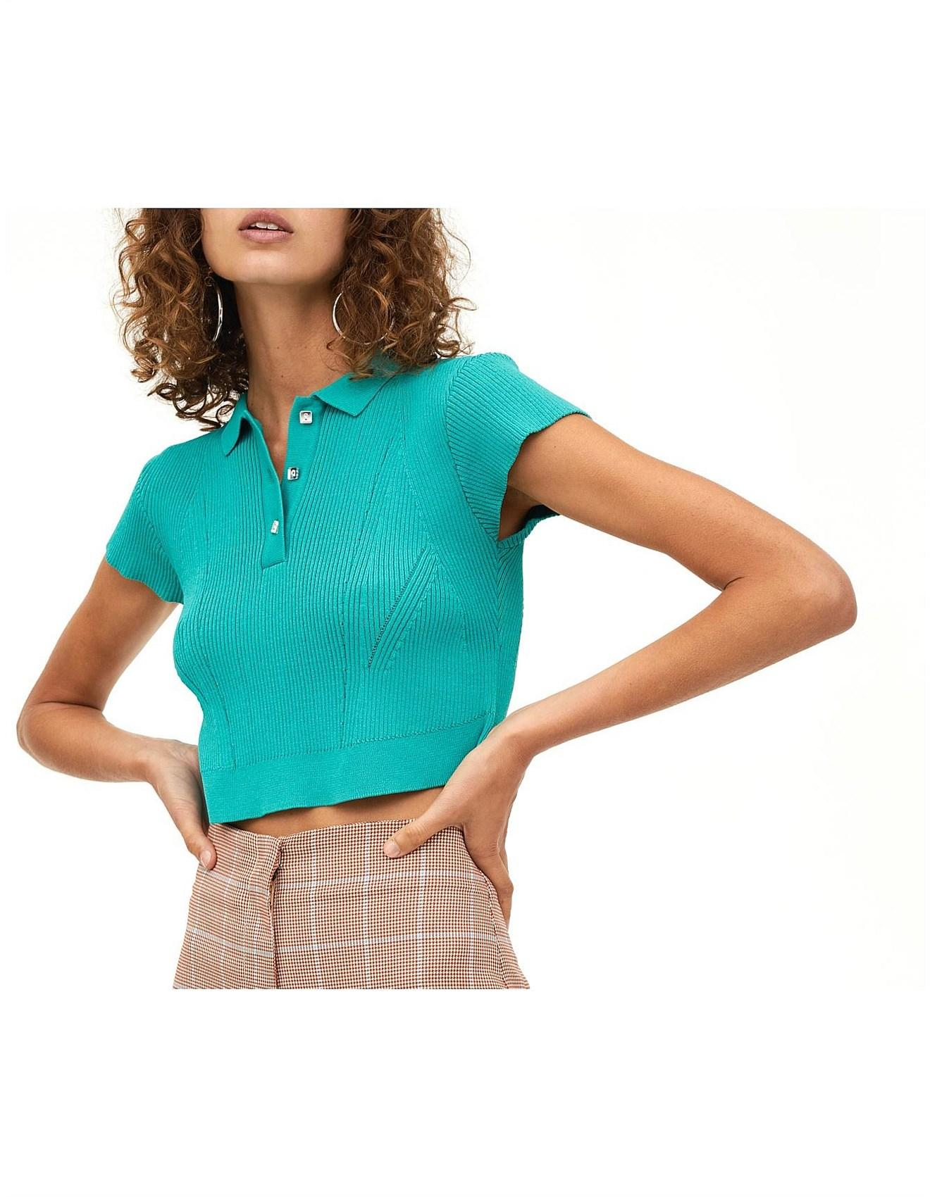 0f681b7400b Manning Cartell Sublime Crop Knit in Blue - Lyst