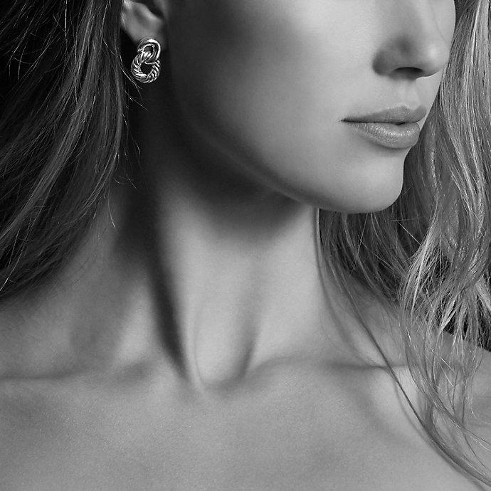 David Yurman Belmont Drop Earrings with Diamonds Yt76a8Rfc