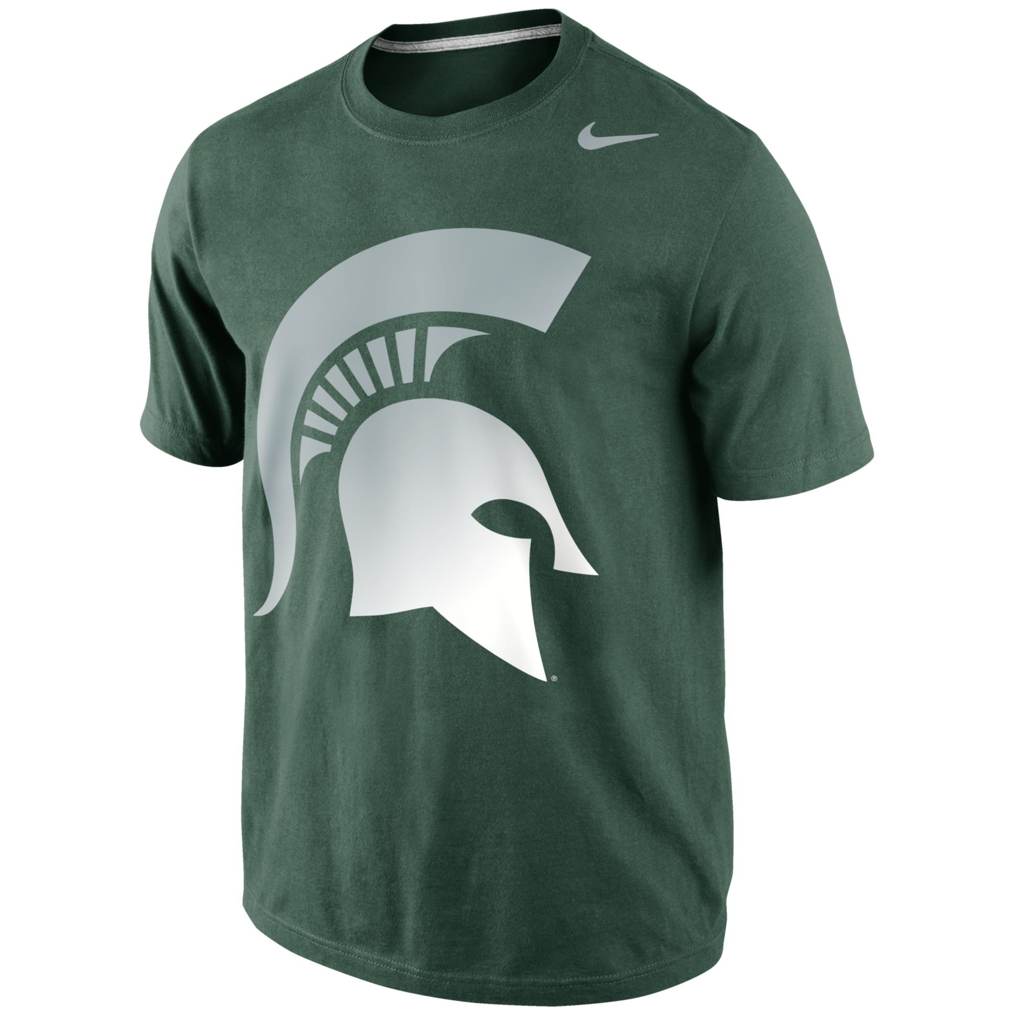 Nike Mens Michigan State Spartans Gradient Tshirt in Green ...