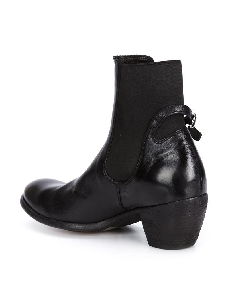 New Officine Creative U0026#39;godardu0026#39; Boots In Gray   Lyst