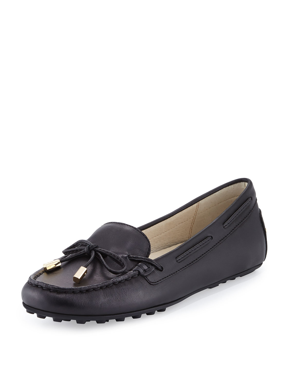 Michael michael kors Daisy Leather Moccasin Loafer in ...