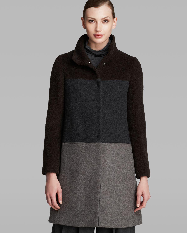 weekend by maxmara coat anima in brown dark brown lyst. Black Bedroom Furniture Sets. Home Design Ideas