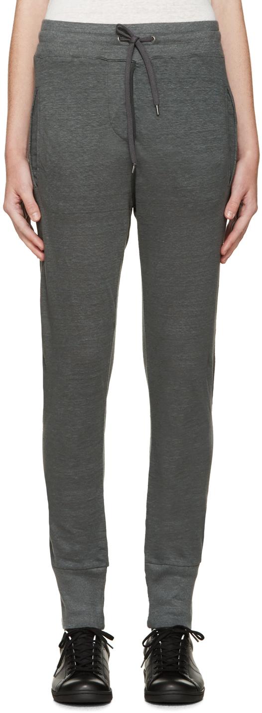 Étoile isabel marant Grey Kurtis Linen Lounge Pants in Gray | Lyst