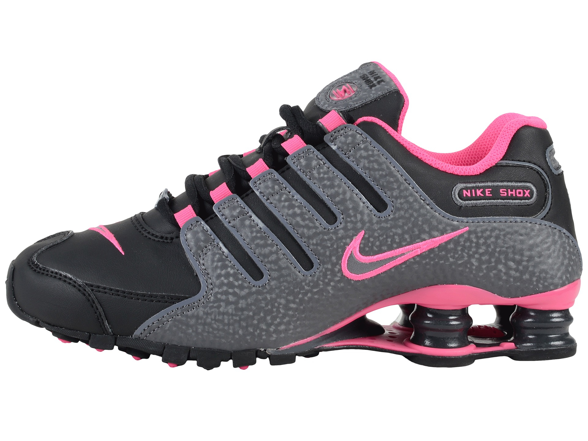 c055352ba49493 ... womens shoes sale 20570 d2da7  shop lyst nike shox nz in pink 369b5  a79d7