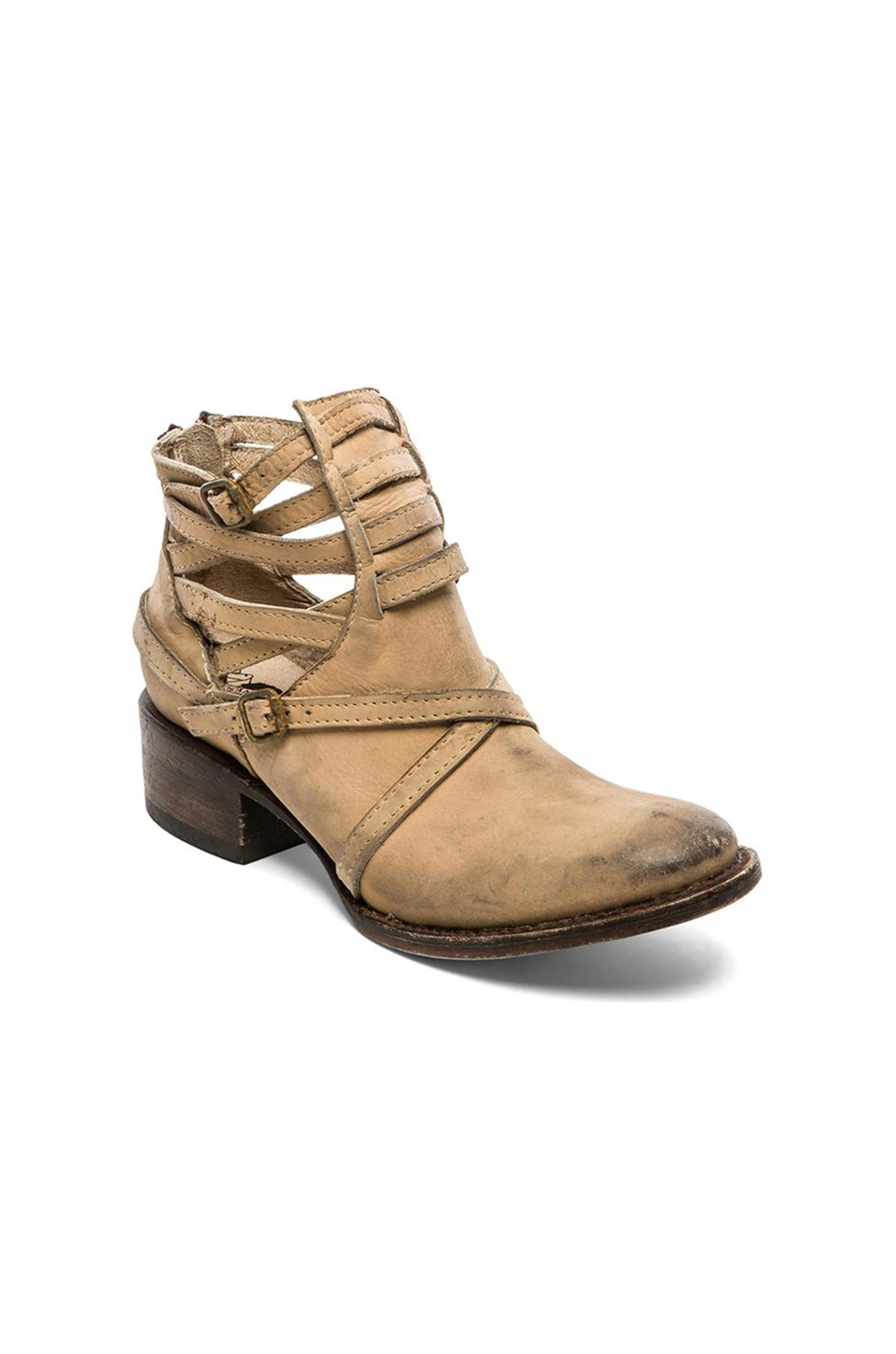 Freebird By Steven Stair Bootie In Natural Lyst