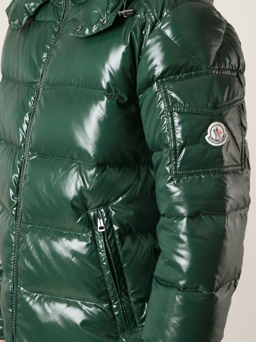moncler green jacket mens